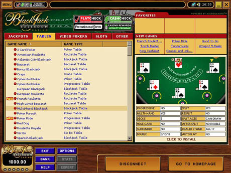 What online casinos take players reward card bingo a gambling problem